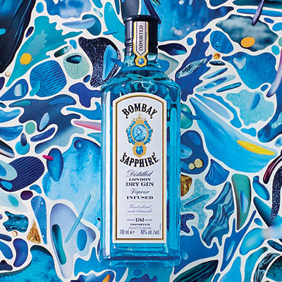 Bombay Sapphire Glassware Packaging